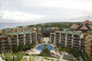 Impresionante paisaje del Hotel Xcaret Arte