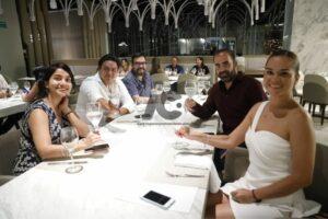 Periodistas especializados en gastronomía presentes en el festival